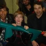 Iago, me and Gianni