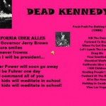 Dead Kennedys California Uber Alles